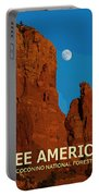 See America - Coconino National Forest Portable Battery Charger