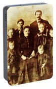 Seei Family Portrait Circa 1906 Portable Battery Charger