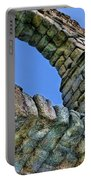 Segovia Aqueduct Arch By Diana Sainz Portable Battery Charger