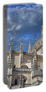 Segovia Gothic Cathedral Portable Battery Charger by Ivy Ho
