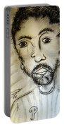 Self-portrait #2 Portable Battery Charger