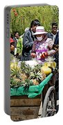 Selling Fresh Pineapple On Street In Lhasa-tibet    Portable Battery Charger