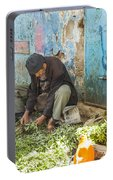 Selling Herbs In The Souk Portable Battery Charger