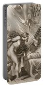 Semele Is Consumed By Jupiters Fire Portable Battery Charger by Bernard Picart