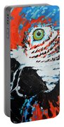 Semiabstract Parrot Portable Battery Charger
