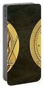 Seminole Nation Code Talkers Bronze Medal Art Portable Battery Charger