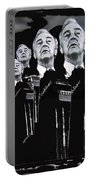Senator Eugene Mccarthy  Collage Democratic Nat'l Convention Miami Beach Florida 1972-2012  Portable Battery Charger