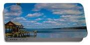 Seneca Lake At Glenora Point Portable Battery Charger