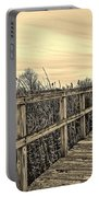 Sepia Boardwalk Portable Battery Charger