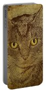 Sepia Cat Portable Battery Charger