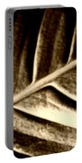 Sepia Leaf Portable Battery Charger
