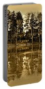 Sepia Reflection Portable Battery Charger