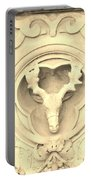 Sepia Reindeer Portable Battery Charger