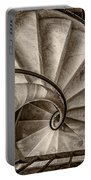 Sepia Spiral Staircase Portable Battery Charger