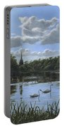 September Afternoon In Clumber Park Portable Battery Charger by Richard Harpum