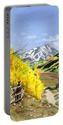 September Gold Portable Battery Charger