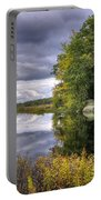 September Storm Clouds Portable Battery Charger