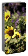 September Yellow Portable Battery Charger