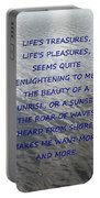 Serene Water Portable Battery Charger by Joseph Baril