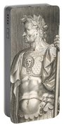 Sergius Galba Emperor Of Rome  Portable Battery Charger