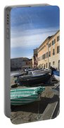 Sestri Levante And Boats Portable Battery Charger