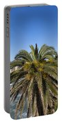 Sestri Levante And Palm Tree Portable Battery Charger