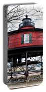 Seven Foot Knoll Lighthouse - Baltimore Portable Battery Charger