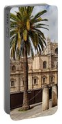 Seville Cathedral In Spain Portable Battery Charger