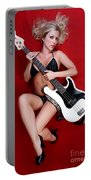Sexy Guitar Portable Battery Charger