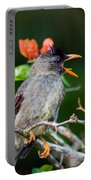 Seychelles Bulbul Portable Battery Charger