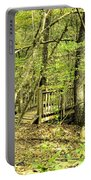 Shades Mountain Bridge In The Forest Portable Battery Charger