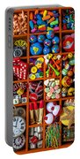 Shadow Box Collection Portable Battery Charger