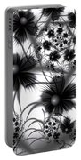 Shadow Flowers Portable Battery Charger