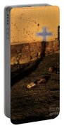 Shadow Of Cross Peru Portable Battery Charger