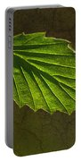 Shadows And Light Of The Leaf Portable Battery Charger