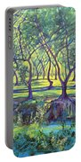 Shadows At Noon - Indian Landscapes Portable Battery Charger