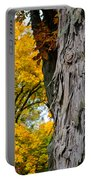 Shagbark Hickory Tree Portable Battery Charger