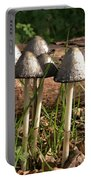 Shaggy Ink Cap Portable Battery Charger