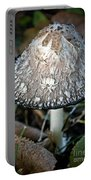 Shaggy Mane Portable Battery Charger