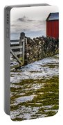Shakertown Red Barn Portable Battery Charger