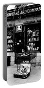 Shakespeare And Company Boookstore In Paris France Portable Battery Charger