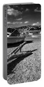 Shaldon Beach In Mono  Portable Battery Charger