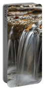 Shale Creek In Autumn Portable Battery Charger