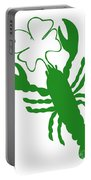 Shamrock Lobster With Feelers 458 20120114 Portable Battery Charger
