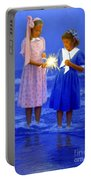 Sharing A Sparkler  Portable Battery Charger