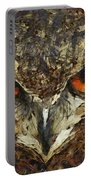 Sharpie Owl Portable Battery Charger by Ayse Deniz