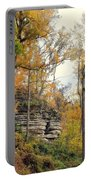 Shawee Bluff In Fall Portable Battery Charger