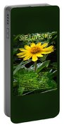 She Loves Me Portable Battery Charger