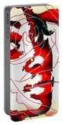 She Pop Art Rose Portable Battery Charger