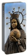 She Watches Over The World Portable Battery Charger